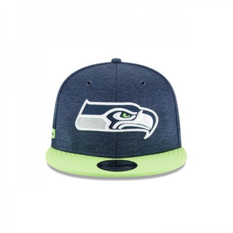 SEATTLE SEAHAWKS OFFICIAL SIDELINE HOME 9FIFTY SNAPBACK