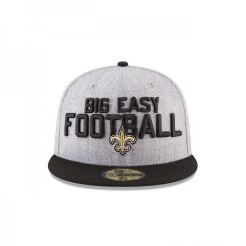 NEW ORLEANS SAINTS NFL DRAFT 59FIFTY FITTED