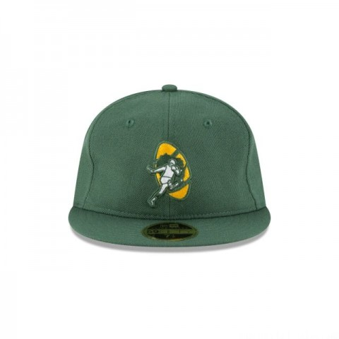 GREEN BAY PACKERS WOOL RETRO CROWN 59FIFTY FITTED - Sale