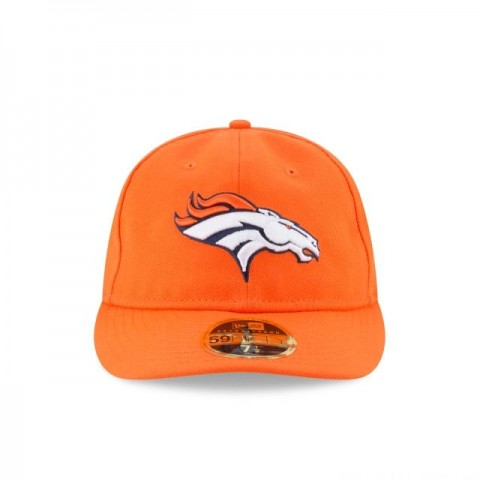 DENVER BRONCOS FAN FIT RETRO CROWN 59FIFTY FITTED - Sale