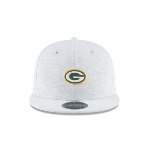 GREEN BAY PACKERS MICRO STITCH 9FIFTY SNAPBACK