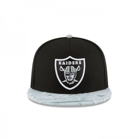 OAKLAND RAIDERS VISOR SCRIPT 59FIFTY FITTED