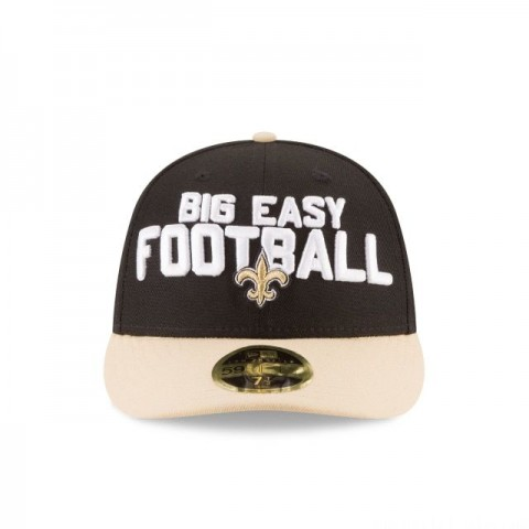 NEW ORLEANS SAINTS SPOTLIGHT LOW PROFILE 59FIFTY FITTED