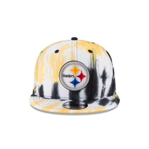 PITTSBURGH STEELERS MARBLED  9FIFTY SNAPBACK - Sale