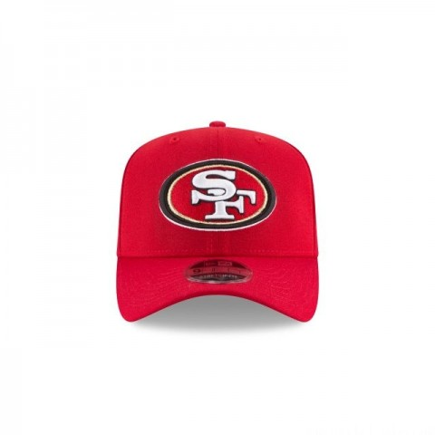 SAN FRANCISCO 49ERS STRETCH SNAP 9FIFTY SNAPBACK
