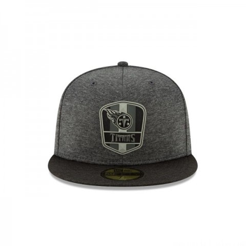 TENNESSEE TITANS NFL SIDELINE ROAD 59FIFTY FITTED