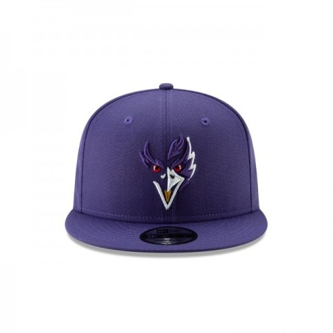 BALTIMORE RAVENS NFL LOGO ELEMENTS 9FIFTY SNAPBACK - Sale