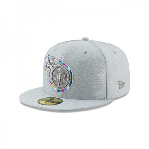 TENNESSEE TITANS CRUCIAL CATCH 59FIFTY FITTED