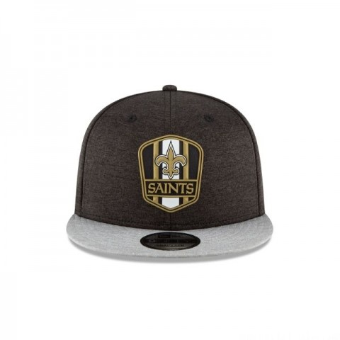 NEW ORLEANS SAINTS OFFICIAL SIDELINE ROAD KIDS 9FIFTY SNAPBACK