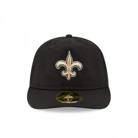NEW ORLEANS SAINTS FAN FIT RETRO CROWN 59FIFTY FITTED