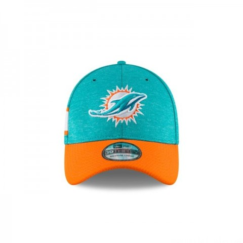 MIAMI DOLPHINS OFFICIAL SIDELINE HOME KIDS 39THIRTY STRETCH FIT - Sale