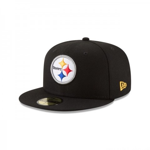 PITTSBURGH STEELERS TITLE TRIM 59FIFTY FITTED - Sale