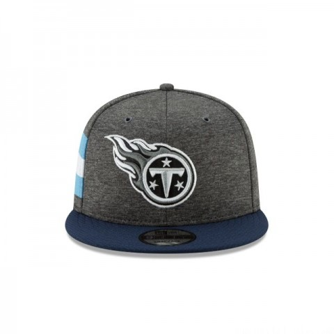 TENNESSEE TITANS GRAPHITE SIDELINE HOME 9FIFTY SNAPBACK