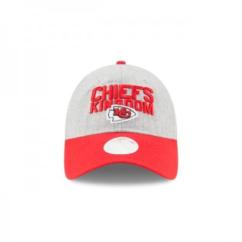 KANSAS CITY CHIEFS WOMENS NFL DRAFT 9TWENTY ADJUSTABLE