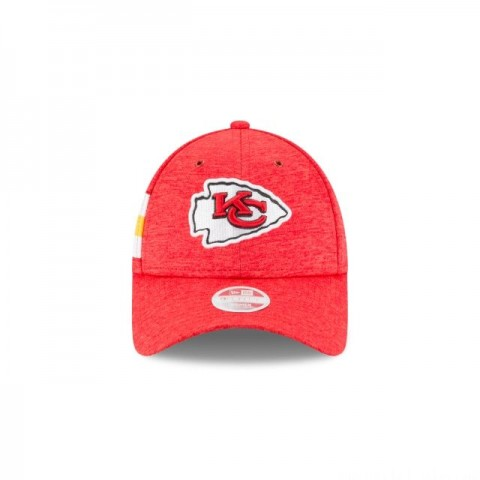KANSAS CITY CHIEFS OFFICIAL WOMENS NFL SIDELINE HOME 9FORTY ADJUSTABLE