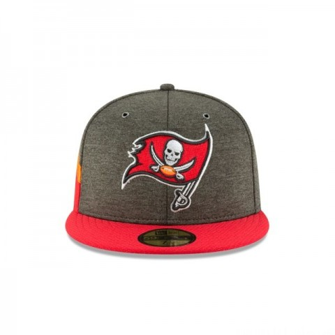 TAMPA BAY BUCCANEERS OFFICIAL SIDELINE HOME 59FIFTY FITTED