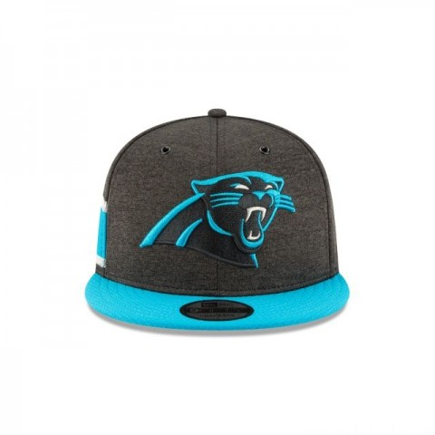 CAROLINA PANTHERS OFFICIAL SIDELINE HOME KIDS 9FIFTY SNAPBACK