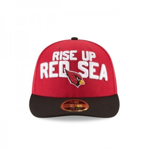 ARIZONA CARDINALS SPOTLIGHT LOW PROFILE 59FIFTY FITTED