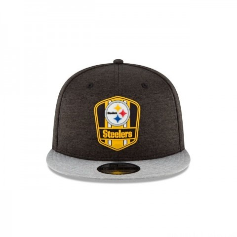 PITTSBURGH STEELERS OFFICIAL SIDELINE ROAD KIDS 9FIFTY SNAPBACK - Sale