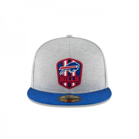 BUFFALO BILLS OFFICIAL SIDELINE ROAD KIDS 59FIFTY FITTED - Sale