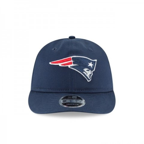 NEW ENGLAND PATRIOTS TEAM CHOICE RETRO CROWN 9FIFTY SNAPBACK - Sale