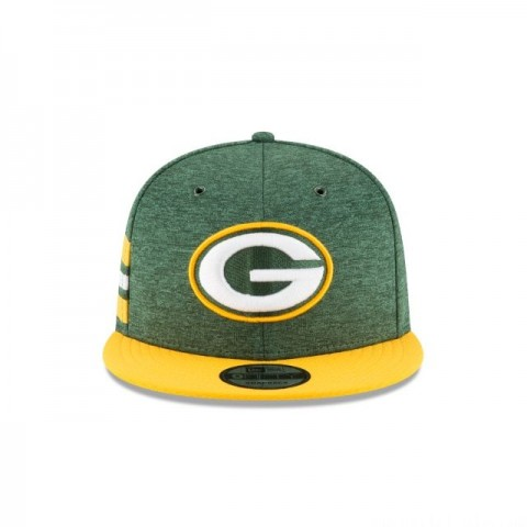 GREEN BAY PACKERS OFFICIAL SIDELINE HOME 9FIFTY SNAPBACK - Sale