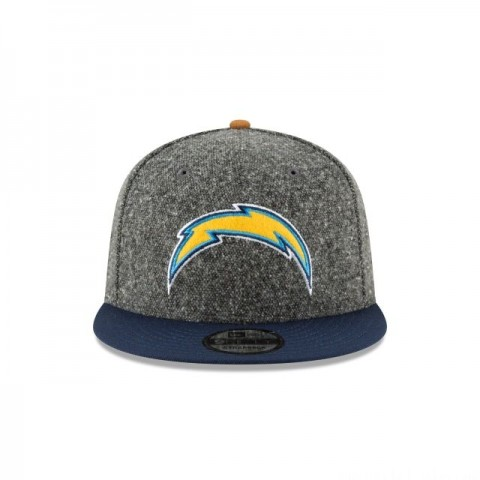 LOS ANGELES CHARGERS SUEDE ON TWEED 9FIFTY STRAPBACK - Sale