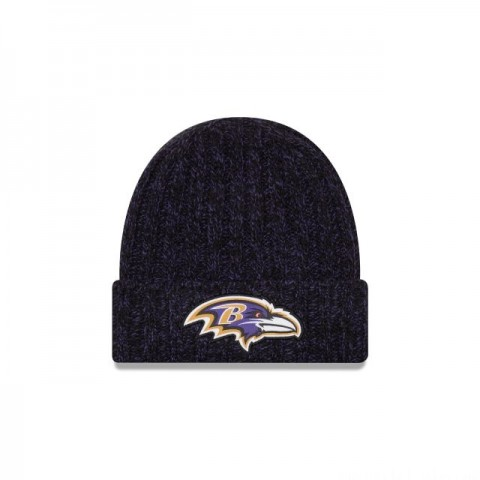 BALTIMORE RAVENS WOMENS COLD WEATHER KNIT