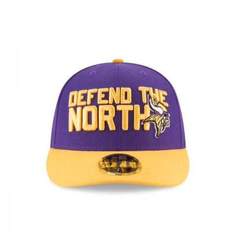 MINNESOTA VIKINGS SPOTLIGHT LOW PROFILE 59FIFTY FITTED - Sale