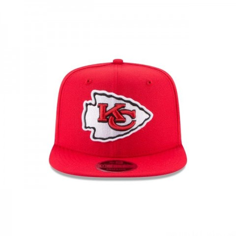 KANSAS CITY CHIEFS HIGH CROWN 9FIFTY SNAPBACK