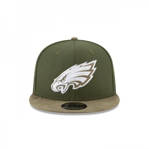 PHILADELPHIA EAGLES TONAL CHOICE GREEN 9FIFTY SNAPBACK - Sale
