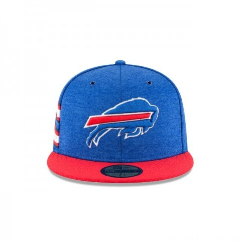 BUFFALO BILLS OFFICIAL SIDELINE HOME 59FIFTY FITTED - Sale