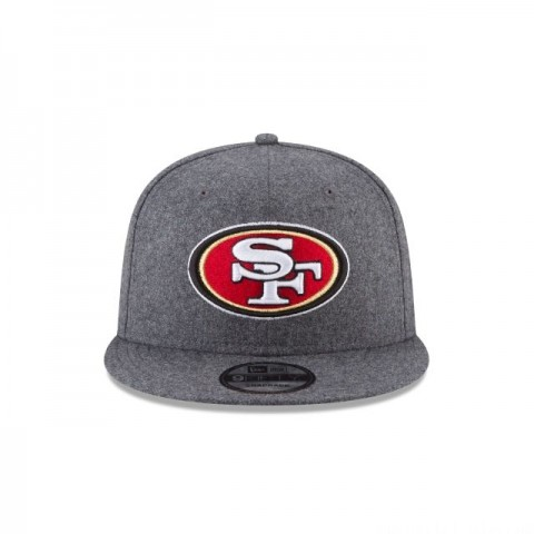 SAN FRANCISCO 49ERS MELTON WOOL 9FIFTY SNAPBACK