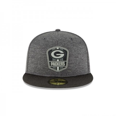 GREEN BAY PACKERS NFL SIDELINE ROAD 59FIFTY FITTED - Sale