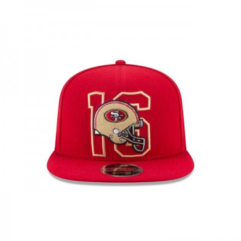 JOE MONTANA 49ERS NUMBER FADE 9FIFTY SNAPBACK