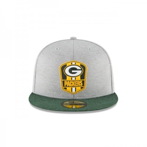 GREEN BAY PACKERS OFFICIAL SIDELINE ROAD KIDS 59FIFTY FITTED