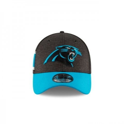 CAROLINA PANTHERS OFFICIAL SIDELINE HOME KIDS 39THIRTY STRETCH FIT