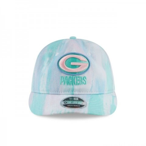 GREEN BAY PACKERS PAINTED RETRO CROWN 9FIFTY SNAPBACK