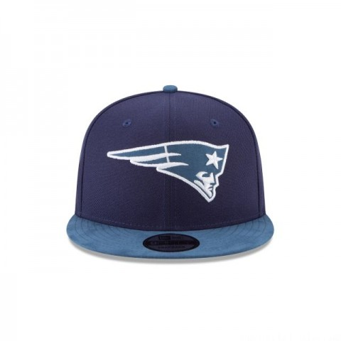 NEW ENGLAND PATRIOTS TONAL CHOICE NAVY 9FIFTY SNAPBACK - Sale