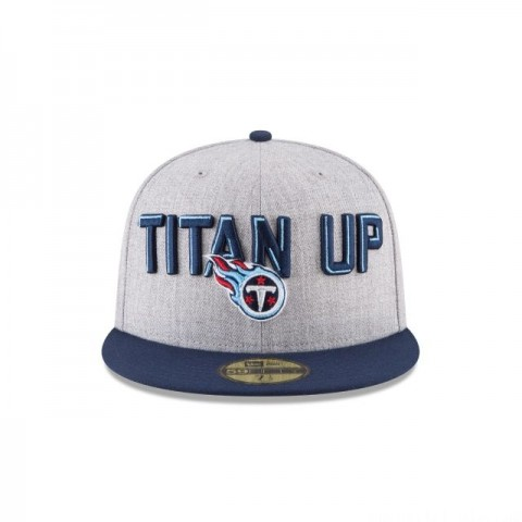 TENNESSEE TITANS NFL DRAFT 59FIFTY FITTED