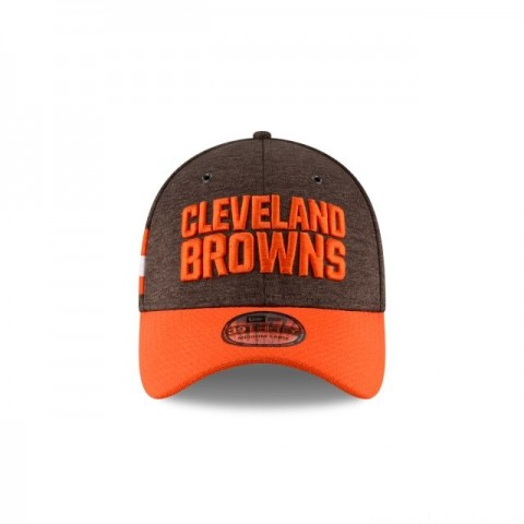 CLEVELAND BROWNS OFFICIAL SIDELINE HOME KIDS 39THIRTY STRETCH FIT - Sale