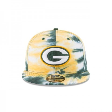 GREEN BAY PACKERS MARBLED  9FIFTY SNAPBACK