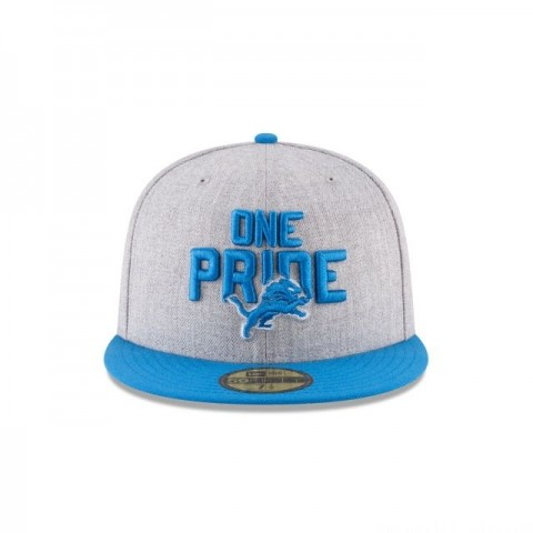 DETROIT LIONS NFL DRAFT 59FIFTY FITTED - Sale
