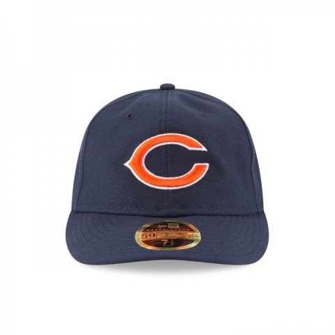 CHICAGO BEARS FAN FIT RETRO CROWN 59FIFTY FITTED