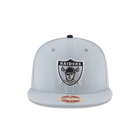 OAKLAND RAIDERS ESTABLISHED WOOL CLASSIC 59FIFTY FITTED