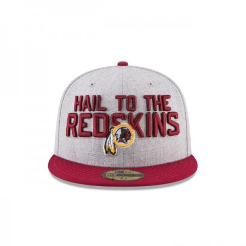 WASHINGTON REDSKINS NFL DRAFT 59FIFTY FITTED