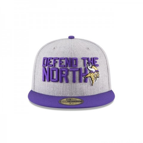 MINNESOTA VIKINGS NFL DRAFT 59FIFTY FITTED - Sale