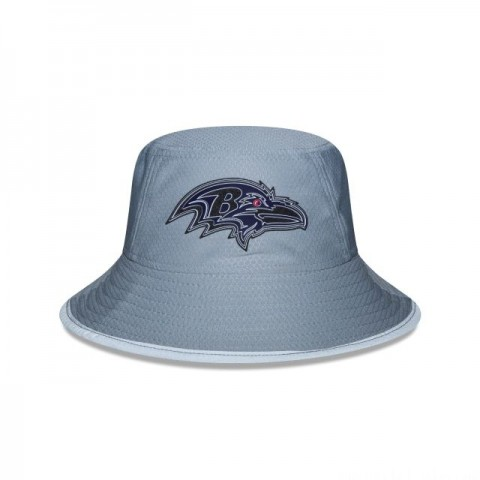 BALTIMORE RAVENS GREY NFL TRAINING BUCKET - Sale
