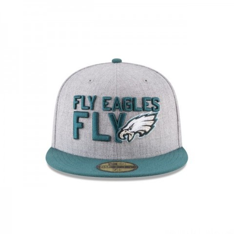 PHILADELPHIA EAGLES NFL DRAFT 59FIFTY FITTED - Sale