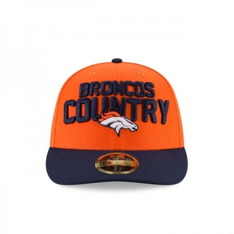 DENVER BRONCOS SPOTLIGHT LOW PROFILE 59FIFTY FITTED - Sale